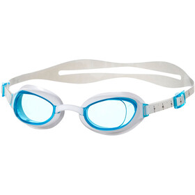 speedo Aquapure Svømmebriller Damer, white/blue